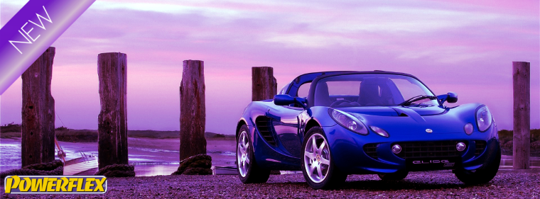 Buy Lotus suspension bushes from our Powerflex online store